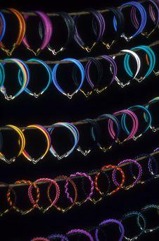 Free Bracelets Galore Stock Image - 4528781