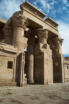 Free Temple Of Kom Ombo Royalty Free Stock Photo - 4529105