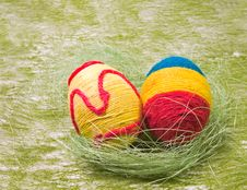 Free Easter Eggs Royalty Free Stock Image - 4529156