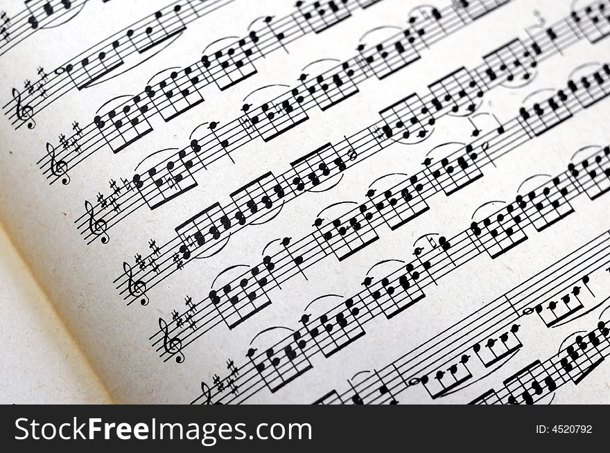 Music Notes Background Free Stock Images Photos 4520792