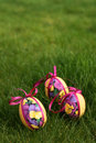 Free Easter Eggs In Meadow Royalty Free Stock Photography - 4532777