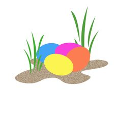 Free Easter Eggs Royalty Free Stock Photos - 4532088