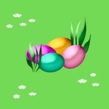 Free Easter Eggs Royalty Free Stock Image - 4532096