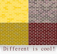 Different Is Cool! Stock Photography