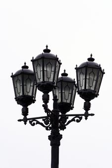 Free Streetlamp Royalty Free Stock Photos - 4532588