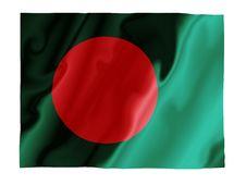 Free Bangladesh Fluttering Stock Image - 4532651