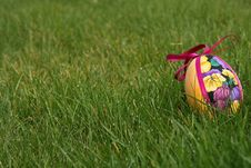 Free Easter Eggs In Meadow Royalty Free Stock Images - 4532769
