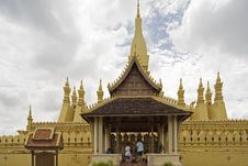 Free That Luang, Laos Stock Photography - 4533302