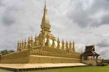 Free That Luang, Laos Royalty Free Stock Photos - 4533308