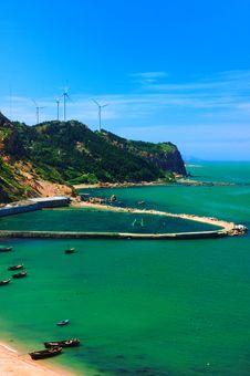 Free Fishing Village Wind-driven Generator Stock Photography - 4533522