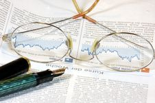 Free Looking Through The Charts Stock Photos - 4533973