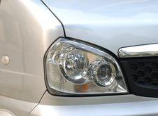 Free Left Headlight  Microbus Stock Image - 4534191