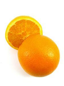 Free Orange And Half Fruit Royalty Free Stock Image - 4534766