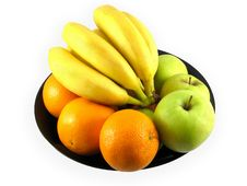 Free Fruit: Appples, Oranges, Banana Stock Photo - 4534970