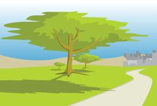 Free Road_tree Royalty Free Stock Photography - 4535687