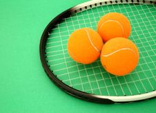 Free Tennis Balls Royalty Free Stock Photo - 4536965