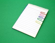 Open Notepad Royalty Free Stock Photography