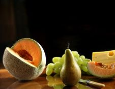 Free Still Life With Fresh Fruits Stock Image - 4537221