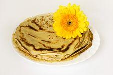 Russian Pancakes Royalty Free Stock Photos