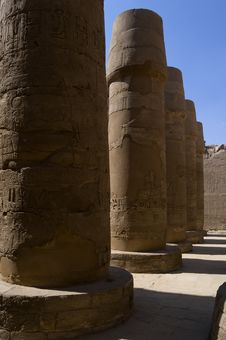 Free The Temple Of Karnak Royalty Free Stock Photo - 4537665