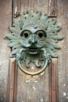 Free Old Door Knocker Stock Images - 4537674