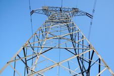 Free Power Transmission Tower Stock Photography - 4538552