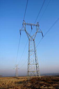 Free Power Transmission Tower Stock Photos - 4538553