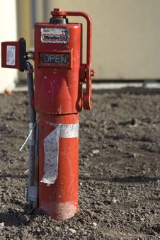 Free Red Fire Hydrant Stock Photo - 4538820