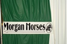 Free Morgan Horses Sign Royalty Free Stock Images - 4538889