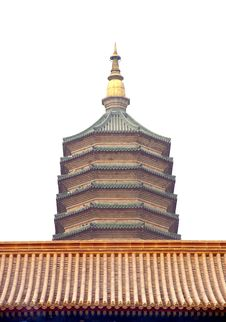 Free Tower Of Buddha In China Royalty Free Stock Photography - 4539157