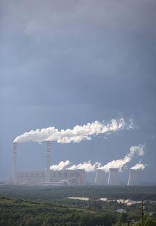Free Power Plant Stock Image - 4539231