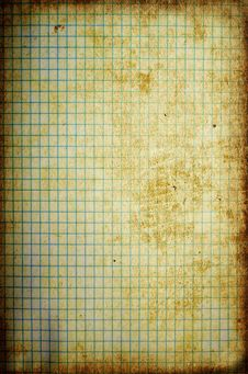 Aged Paper With Border Royalty Free Stock Photography