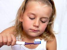 Free Brushing Teeth Stock Images - 4539904