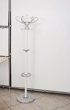 Free Hanger Standing On The Floor Stock Image - 45301951