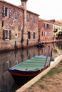 Free Boat Moored In Burano, Venice - Italy Stock Photography - 4541942