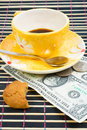 Free Pay For Coffee And Cookies Royalty Free Stock Images - 4542899