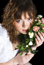 Free Bride With A Bouquet Of Roses Royalty Free Stock Photography - 4544197