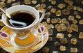 Free Black Coffee Royalty Free Stock Photos - 4545228