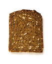 Free One Slice Of Whole-grain Dark Bread Royalty Free Stock Photos - 4545848