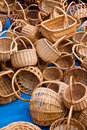 Free Wicker Baskets Royalty Free Stock Image - 4547626
