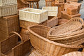 Free Wicker Baskets Stock Image - 4547701