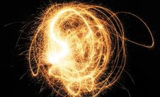 Free Flame Light Abstraction Royalty Free Stock Images - 4541009