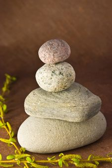 Free Balancing Stones Royalty Free Stock Photo - 4541105