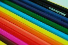 Free Color Pencil-2 Stock Photography - 4541192