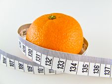 Free Mandarine On Diet Stock Photo - 4541310