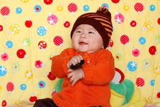 Free Chinese Lovely Baby Stock Photo - 4541650