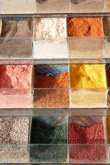 Free Different Oriental Spice In Old Market Stock Images - 4542794
