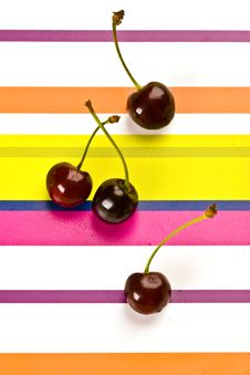 Free Cherries Royalty Free Stock Photo - 4542805