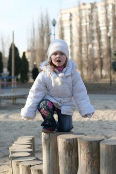 Free Child On Playground Royalty Free Stock Photos - 4543058