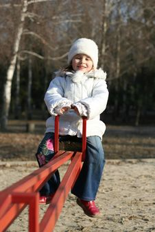 Free Child On Playground Royalty Free Stock Photo - 4543095